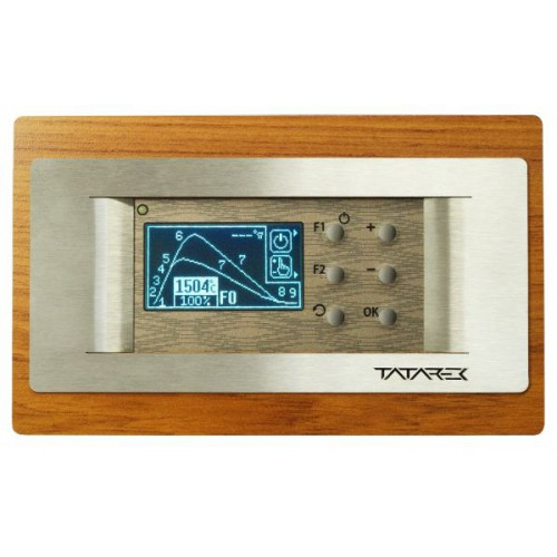 RT-08 OS Grafik WOODLINE 2 100 mm (TITANIUM Design) Tatarek