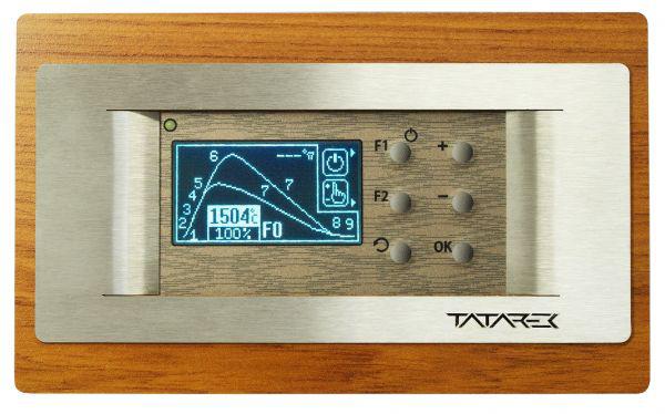 RT-08 OS Grafik WOODLINE 2 100 mm (TITANIUM Design) Tatarek -1