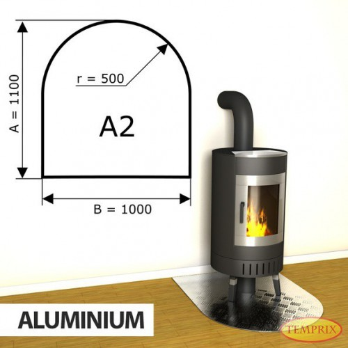 Podstawa kominkowa z aluminium A2