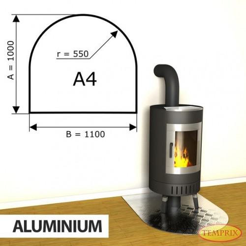 Podstawa kominkowa z aluminium A4