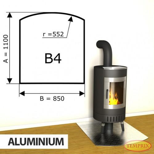 Podstawa kominkowa z aluminium B4