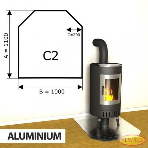 Podstawa kominkowa z aluminium C2