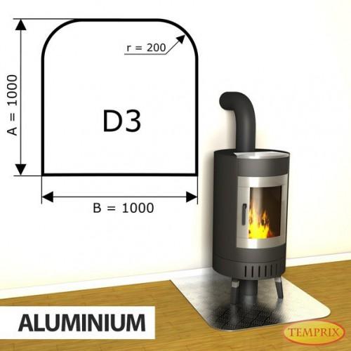 Podstawa kominkowa z aluminium D3