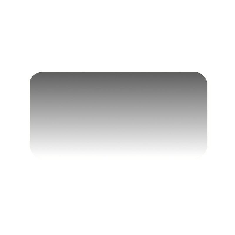 Szkło kominkowe żaroodporne na wymiar Mirror Glass z czterema narożnikami -1