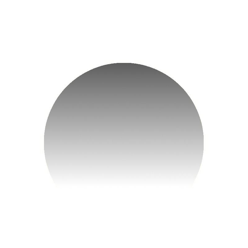 Szkło kominkowe żaroodporne na wymiar Mirror Glass w kształcie fragmentu koła-1