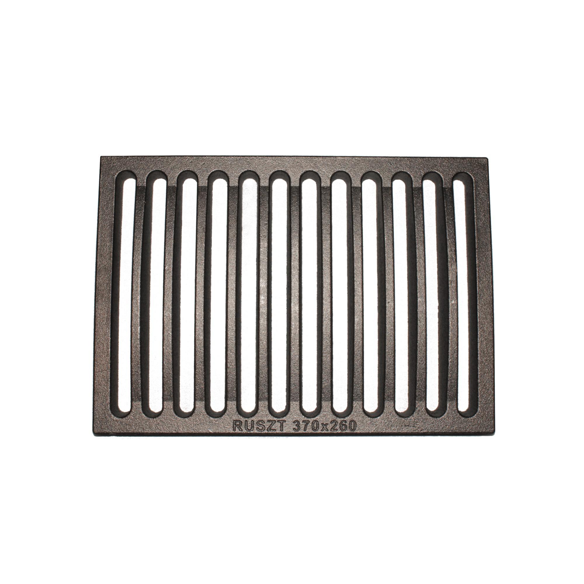 Ruszt żeliwny zespolony 26x37 cm do kominka Lechma PL190 -1