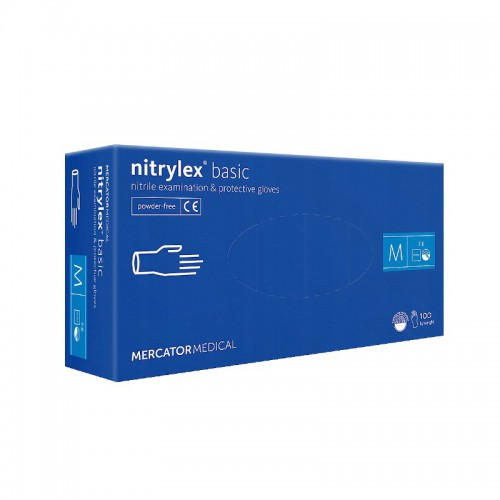 Rekawice nitrylowe NITRYLEX Basic M 100