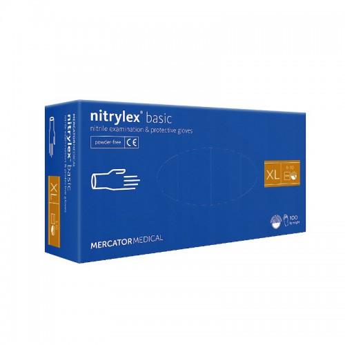 Rekawice nitrylowe NITRYLEX Basic XL 100