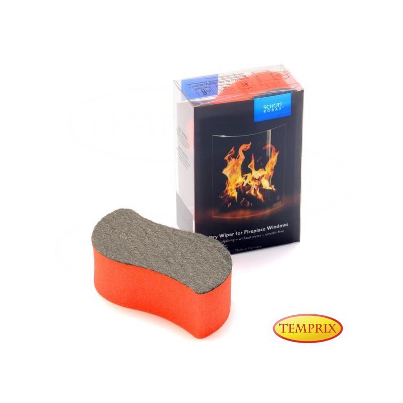 Gąbka Dry Wiper Robax do czyszczenia szyb kominkowych