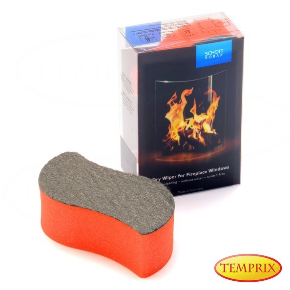 Gąbka Dry Wiper Robax do czyszczenia szyb kominkowych -1