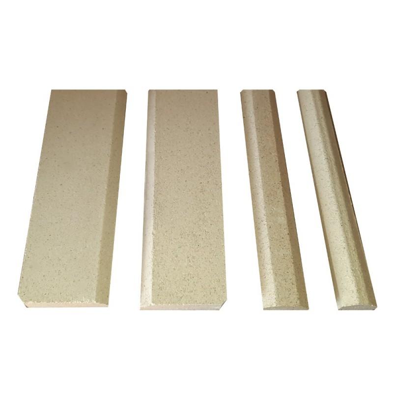 Wyłożenie szamotowe paleniska do kominka typu PL190 Standard-5